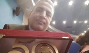 Writer Mahmoud Abdo Wins Best Story Award at Cairo International